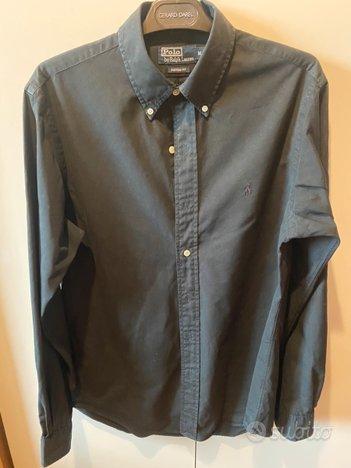 Camicia Ralph Lauren uomo Tg. M total black