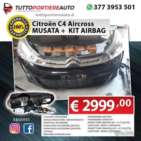Citroen c4 aircross 2018 musata   kit airbag