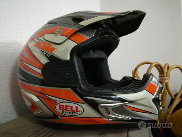 Casco Motocross BELL HELMET KTM Racing Moto 7k