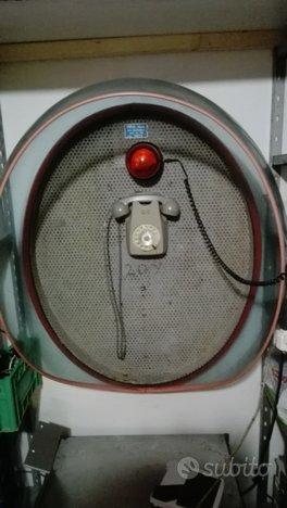 Telefono pubblico bar anni 70