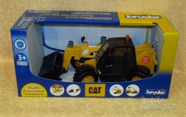 Bruder 02141 cat pala con benna telescopica