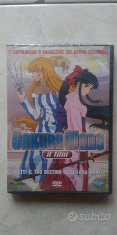 Sakura Wars il film DVD