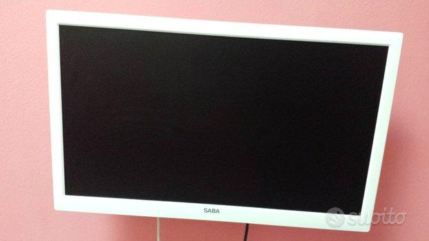 Televisore Led con Dvd Recorder Saba 24 pollici