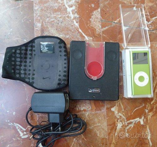 Apple Ipod nano 4gb con docking e fascia running