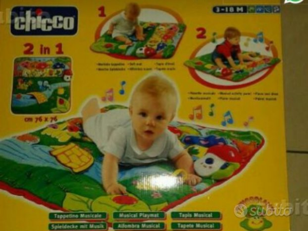 Tappeto musicale Chicco 2 in 1