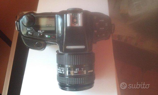 Nikon F90X + MB-10