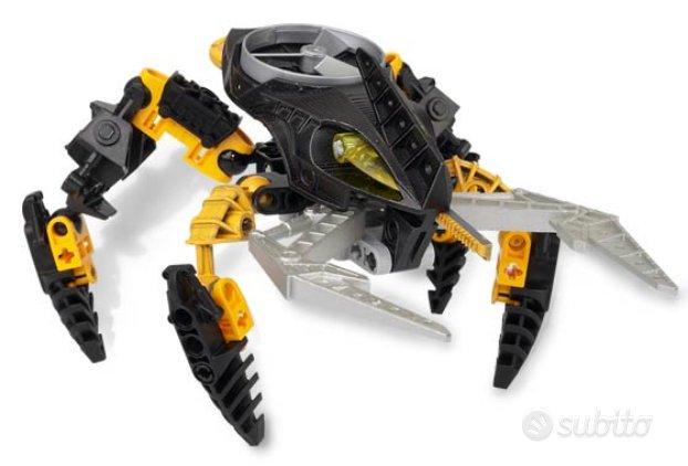 Lego robot bioncle 8744 usato giallo e nero dispon
