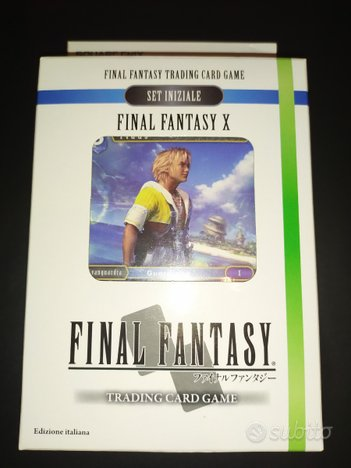 Final Fantasy X Trading card game Nuovo