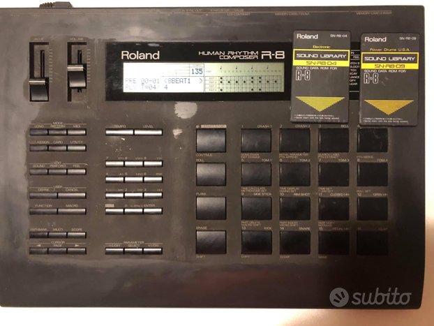 Roland R8 con 2 card
