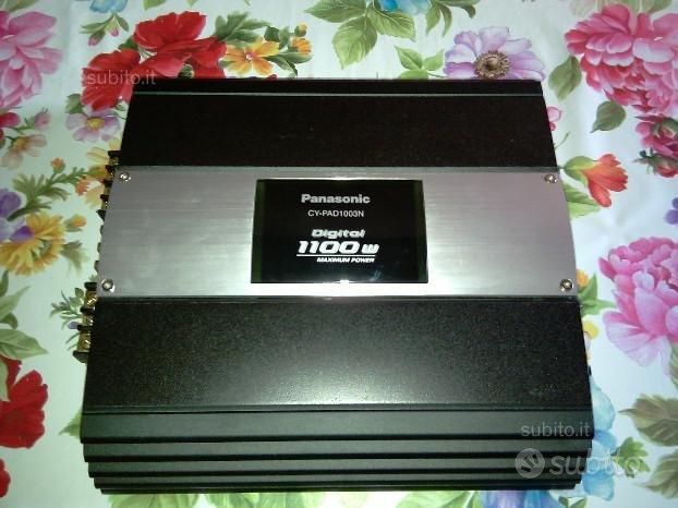 Amplificatore da auto digitale Panasonic cy-pad100