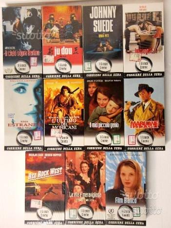 VHS Grandi Film Grande Cinema Corriere della Sera