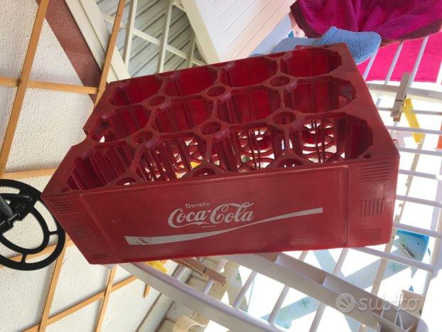 Cassa vintage Coca-Cola porta bottiglie