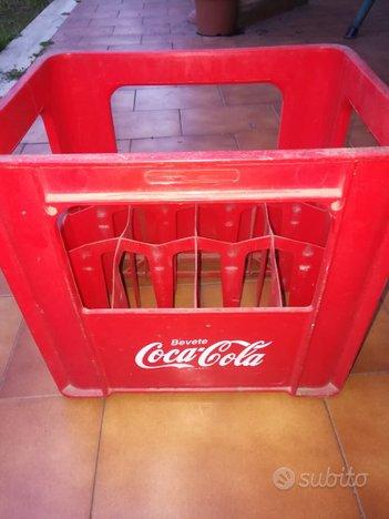 Cassetta Coca Cola Plastica Rossa N°12 Bottiglie