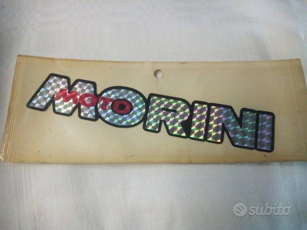 Moto Morini adesivo rifrangente anni 70-80