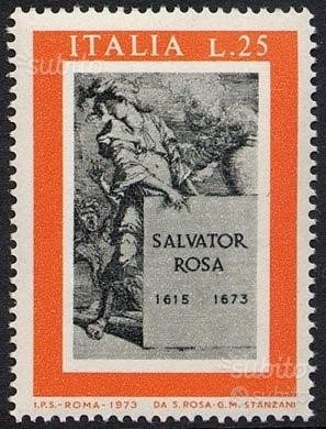 Francobollo SALVATOR ROSA