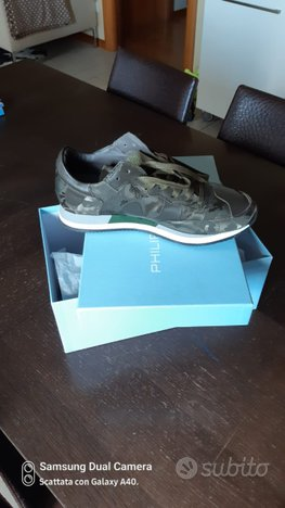 Philippe model sneakers camouflage tg 42 nuove