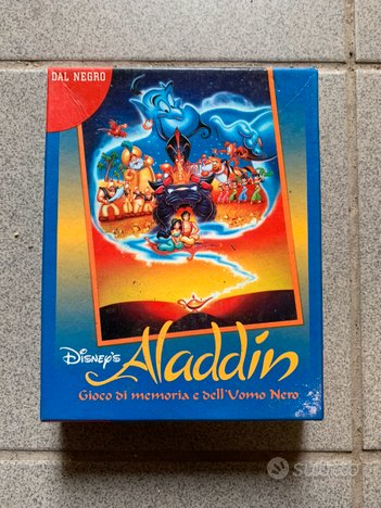 Gioco di carte ALADIN Disney - Dal Negro