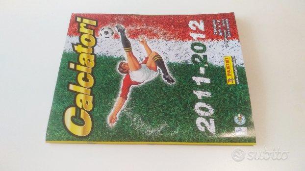 Album calciatori panini parziale 2011-2012