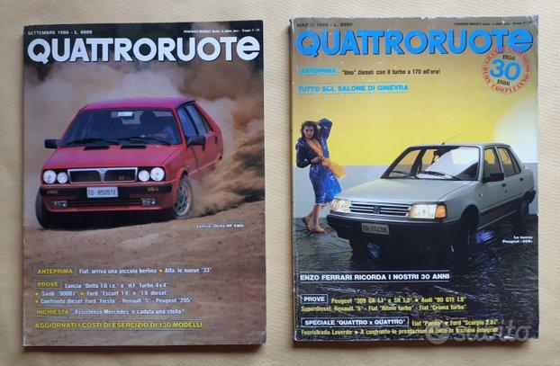 Quattroruote 1984 1985 1986 1987 1988 1989 1990