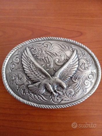 Fibbia western design