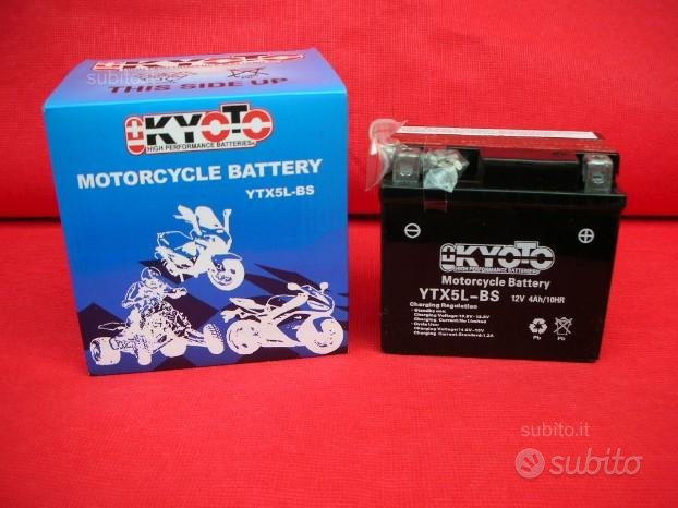 Kyoto Batterie Moto-Scooter-Quad YTX5L-BS