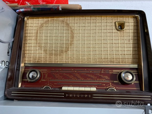 Radio a valvole Philips