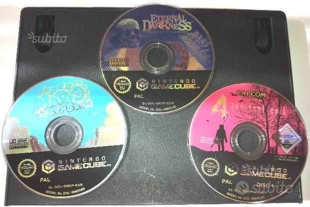 Gamecube nintendo lotto giochi originali