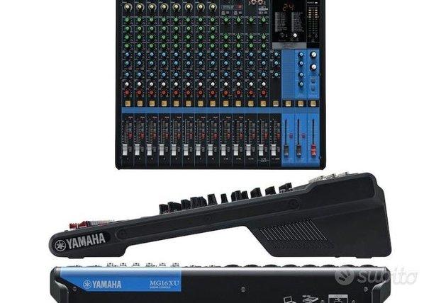 Mixer Analogico USB Yamaha MG16XU
