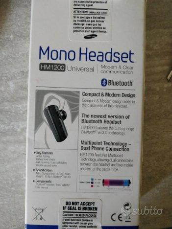 Auricolare Bluetooth