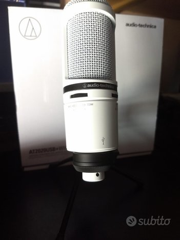 Microfono Audio Technica AT2020 USB+