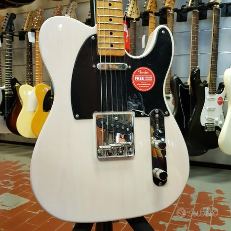 SQUIER - CLASSIC VIBE 50 TELECASTER WHITE BLONDE