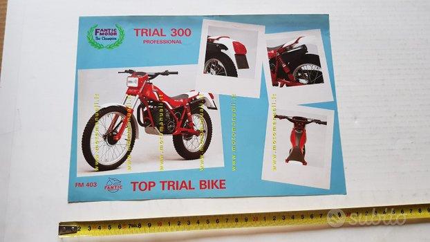 Fantic Motor Trial 300 Professional 1983 depliant