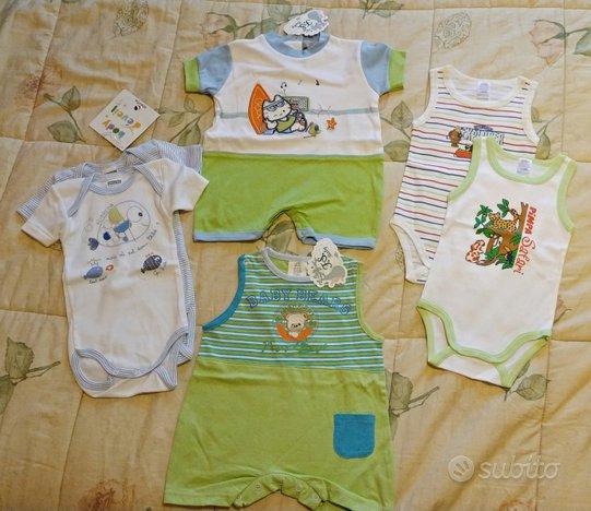 6 Body bambino 6 mesi NUOVI