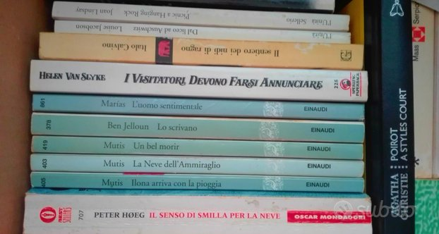 Romanzi, saggistica, libri vari