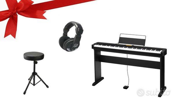 CASIO CDP S350 BK PIANO DIGITALE - PACCHETTO