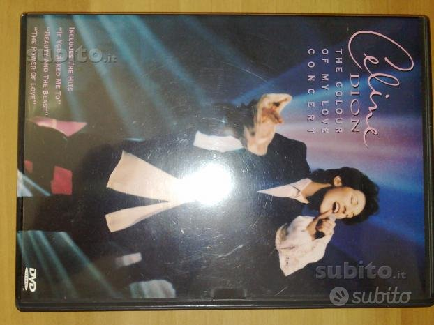 Celine Dion the colour of my love concert dvd