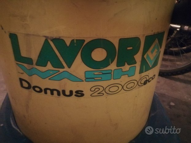 Aspirapolvere lavor wash domus 2000