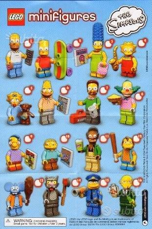 Lego minifigures simpson 1