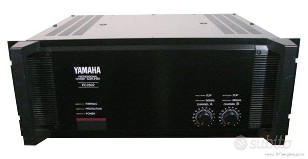 Amplificatore finale Yamaha PC 2602