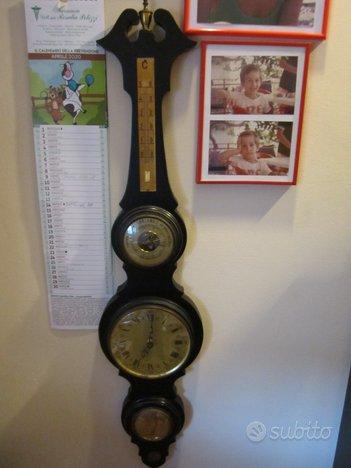Orologio termometro barometro igrometro da parete