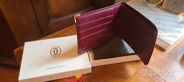 Portafoglio Cartier originale