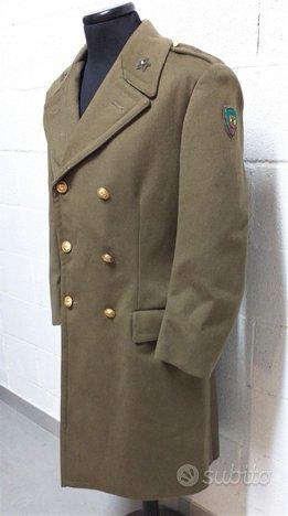 Cappotto Alpini E.I. anni 60 STen. Brigata Orobica