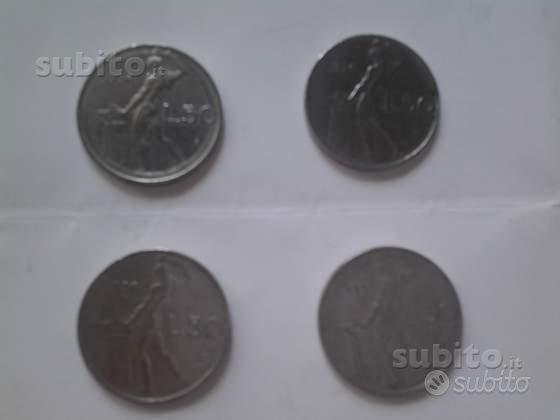 MONETE N. 9 Lire 50 e 100