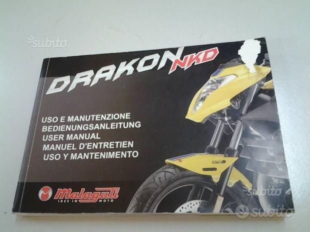 Uso e manutenzione Drakon Malaguti