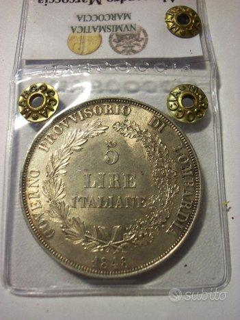 Collezione scudi/similari argento stati preunitari