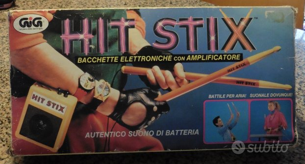 HIT STIX Bacchette elettroniche con amplificatore