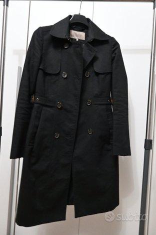 Trench coat impermeabile nero Mint & Berry