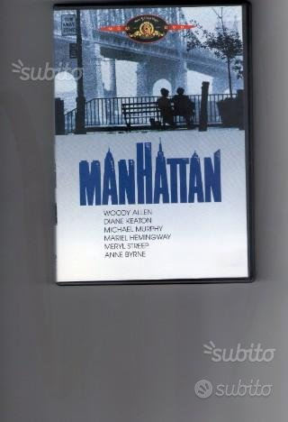 Manhattan, di Woody Allen, dvd originale usato