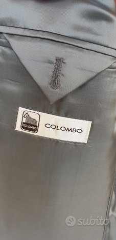 Colombo sartoriale giacca TG 50 cachemire cashmere