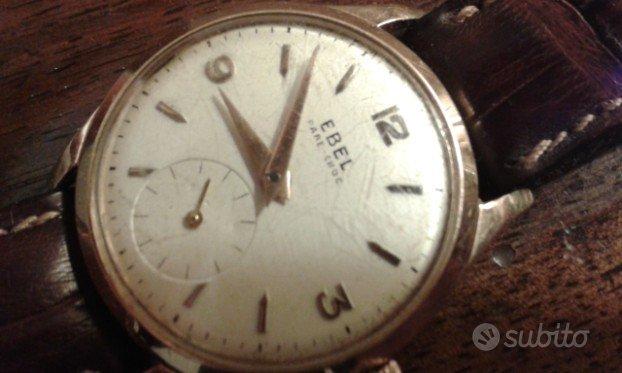Orologio oro rosa Ebel anni 60/70